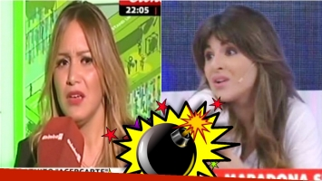 La Princesita Karina habló del cruce twittero con Gianinna Maradona. Foto: Captura