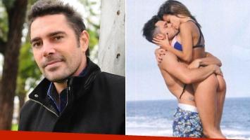 Matías Alé habló del romance de su ex con Lucas Velasco (Foto: web y revista Caras)