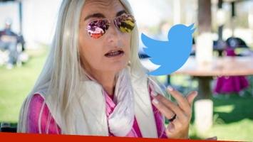 El primer tweet de Silvia D'Auro después de 3 años. Foto: Web