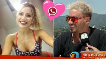La respuesta ¡en vivo! de Laurita a la declaración de amor de Fede Bal