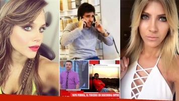 Habló Tato Pernía, el supuesto tercero en discordia entre Barbie Vélez y Cande Ruggeri (Foto: web)