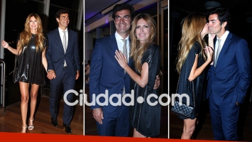 Juan Manuel Urtubey acompañó a Isabel Macedo a la presentación de Amar después de amar: las fotos