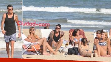 Cristian U. disfrutó de su semana de vacaciones con amigas en Punta del Este. (Foto: GM Press - Ciudad.com)
