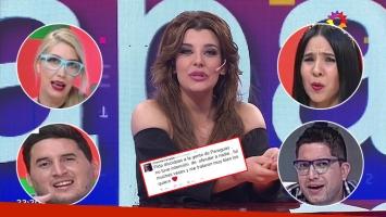 El perdón de Charlotte Caniggia a los paraguayos, después de ofenderlos y de que la criticaran en la TV guaraní: