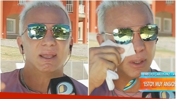 La emoción de Flavio Mendoza al hablar de la mujer que le alquilará su vientre (Fotos: Captura)