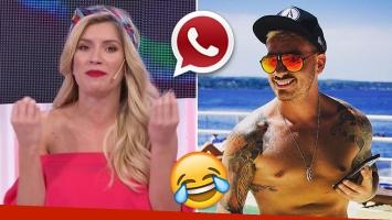 ¡Lo mató! Laurita reveló el particular apodo que le puso por WhatsApp a Fede Bal, tras la violenta pelea