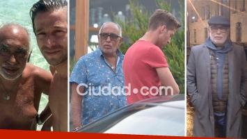 Se separaron Oscar González Oro y Tato Cabrera. Foto: Web, Ciudad.com