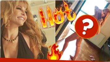 Graciela Alfano volvió a encender las redes con una foto suya totalmente desnuda (Fotos: Instagram y Twitter)