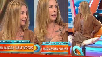 María Valenzuela se tatuó una flor y una lagartija en los glúteos (Foto: web)