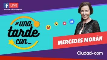 Mercedes Morán, invitada de lujo de #UnaTardeCon programa 124.