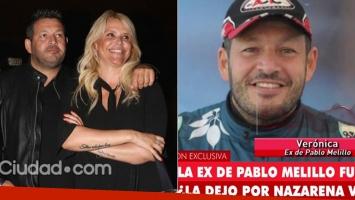 Nazarena Vélez confirmó su relación con Pablo Melillo y la exmujer del piloto la destrozó (Foto: web y Ciudad.com)