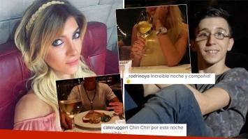 Candela Ruggeri y Rodrigo Noya, cena romántica... ¿y romance? (Foto: Instagram)