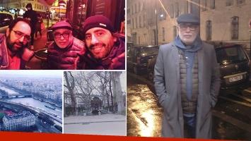 Oscar González Oro, de vacaciones en París tras separarse de Tato Cabrera. (Foto: Instagram)