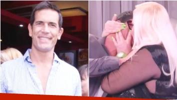 Diego Ramos habló del beso que le dio Silvia Süller en el programa de Mirtha Legrand (Fotos: Web y Captura)