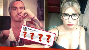 El sugerente tweet de Federico Bal... ¿dedicada a Laurita Fernández? (Fotos: Web)