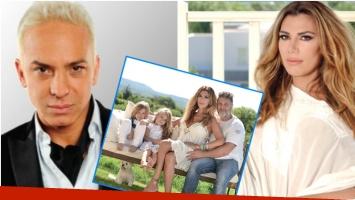 Flor de la Ve opinó sobre la decisión de Flavio Mendoza de alquilar un vientre para convertirse en papá (Fotos: Web y revista Gente)