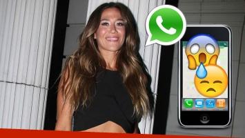 Jimena Barón tuvo una larga conversación por WhatsApp con la persona equivocada (Foto: Ciudad.com)