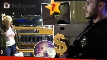 """¡La envidia de muchos! Wanda mostró el increíble """"chiche"""" de la lujosa Hummer de Icardi: mirá qué instaló en su camioneta"""