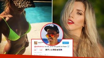 Laurita Fernández deleitó con su lomazo en Instagram, ¿y le dio esperanzas a Federico Bal por Twitter? (Foto: Web)