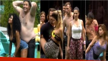 Mirá el baile sexy de Kate Rodríguez que puso como locos a los chicos de Despedida de solteros. Foto: Captura