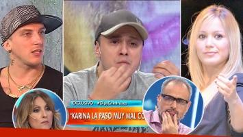 """El Dipy y una escandalosa (y muy delicada) versión sobre El Polaco: """"Pregúntenle cuando atropelló a Karina con el auto en el country"""""""