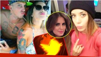 Los fuertes tweets de la ex de El Polaco luego de que el cantante y Silvina Luna blanquearan su romance (Fotos: Web)