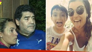 """Diego Maradona, con los tapones de punta contra Verónica Ojeda por Dieguito Fernando: """"Estoy dispuesto a pedir la tenencia"""