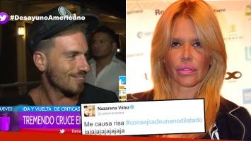 ¡Misil de ironía y sarcasmo! La picante respuesta de Fed Bal al escandaloso tweet de Nazarena Vélez