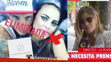 """El Polaco borró su foto romántica con Silvina Luna y su exmujer contó el polémico motivo: """"Me llamó por teléfono y habló conmigo"""""""