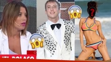La exmujer de El Polaco contó en TV qué famosa le mandaba fotos muy hot al cantante (Foto: web)