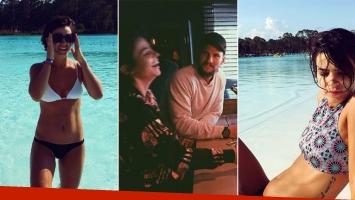 Agustina Cherri, de vacaciones con su novio en Uruguay (Foto: Instagram)