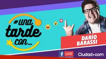 Darío Barassi, el invitado del lunes en #UnaTardeCon por Facebook Live a las 16 hs.