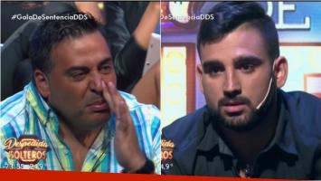 El tremendo gesto de Matías en un cara a cara con Marcos en Despedida de solteros. Foto: Captura