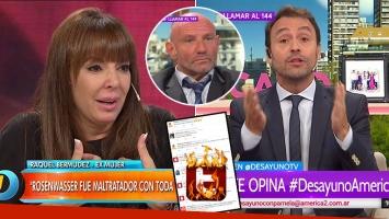 """Adrián Pallares explotó contra las mujeres que critican a la ex de Rosenwasser por reclamar dinero con """"las uñas esculpidas"""""""