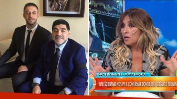 La fuerte crítica de Marcela Tauro a Matías Morla por su defensa de Diego Maradona [nid:81117]