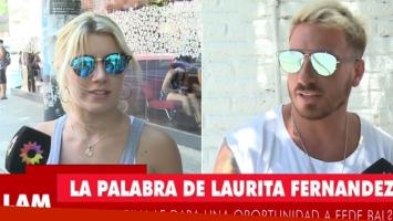 Laurita y el motivo por el que no quiere reencontrarse con Fede Bal (Foto: web)