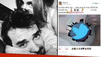 ¡Lo mandó al frente en Twitter! Paula Chaves y su divertido escrache a Pedro Alfonso