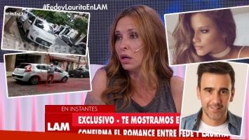Analía Franchín disparó contra Barbie Vélez y Federico Hoppe (Foto: web)