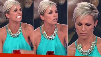 Denise Dumas explotó de furia en pleno vivo de Infama (oto: web)