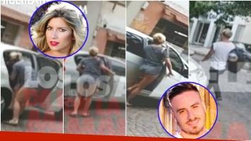 Una cámara siguió a Laurita Fernández y Federico Bal y mirá qué descubrieron (Fotos: Captura y Web)