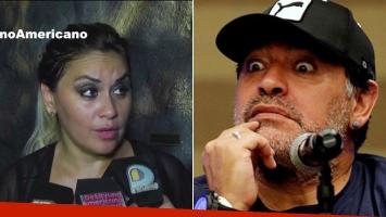 Verónica Ojeda y una fuerte respuesta a la acusación de Maradona.