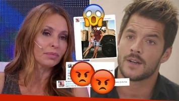 Picante comentario de Analía Franchín sobre las declaraciones de Delgado sobre Barby Silenzi (Foto: web y Twitter)