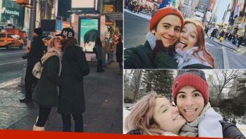 Los románticos días de Ángela Torres junto a Pepo Maurizi en Nueva York (Foto: Instagram)