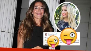 El pícaro tweet de Jimena Barón a Laurita Fernández sobre los rumores de romance con Fede Bal  (Foto: web y Twitter)