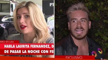 Laurita Fernández respondió ¿pasó o no la noche con Fede Bal?: