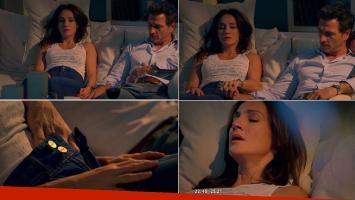 Eleonora Wexler habló de la escena hot que hizo con Federico Amador (Foto: web)