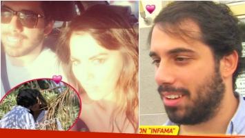 Habló Albi, el novio de Karina Jelinek (Fotos: Instagram, Captura y Ciudad.com)