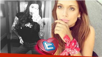 El intercambio de piropos de Cande Tinelli y Barbie Vélez en Twitter (Fotos: Instagram y Twitter)