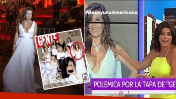 Viviana Saccone, súper escote en la tapa de la revista Gente (Foto: web)