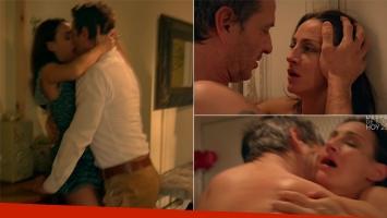 La escena súper hot de Eleonora Wexler y Federico Amador en Amar después de Amar (Foto: web)